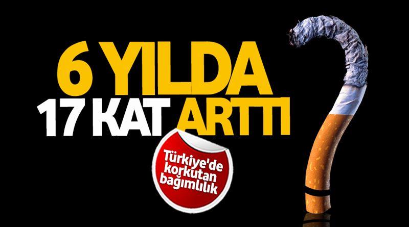 Türkiye'de bağımlılık 6 yılda 17 kat arttı